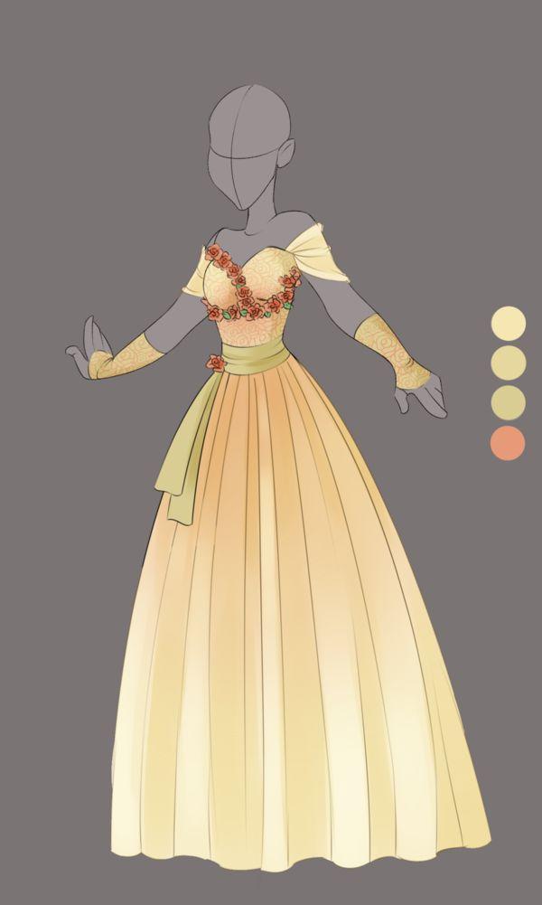 :: Commission April 03: Outfit Design :: by VioletKy.deviantart.com on @DeviantArt