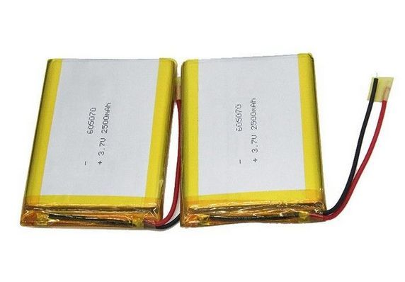 Safety 3 7v Lipo Battery 2500mah 605070 Rechargeable Lithium Polymer Battery Lipo Battery Lipo Polymer