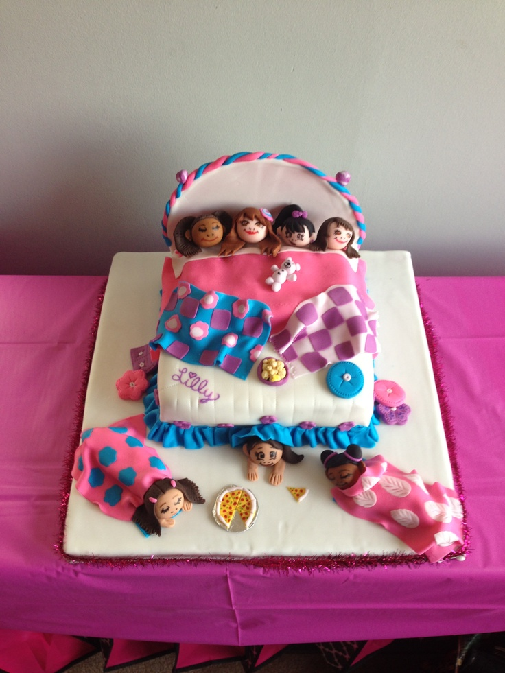 1000+ images about Slumber party cakes on Pinterest ...