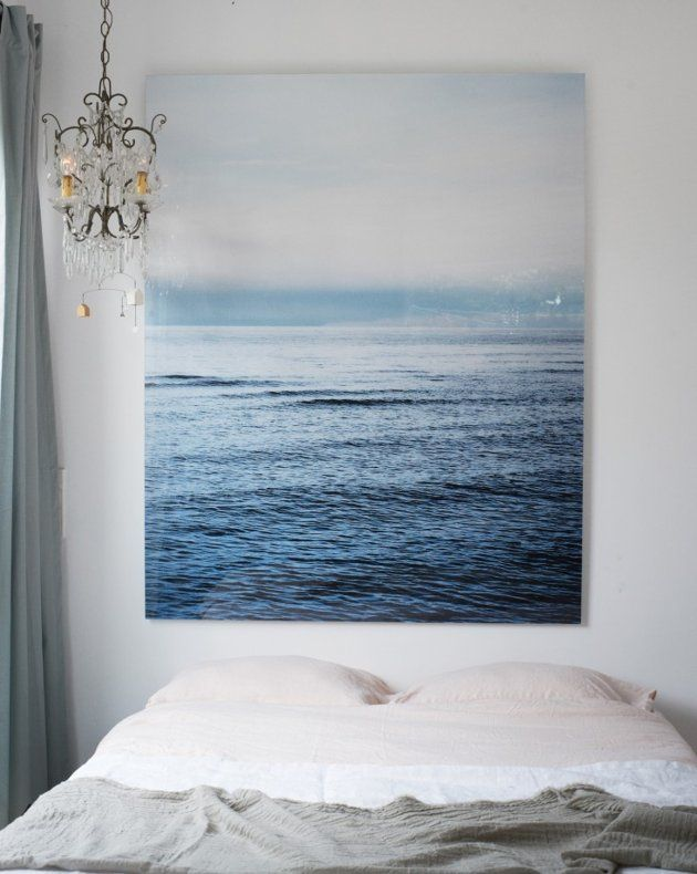 お気に入りの写真をでかく引き伸ばし寝室に