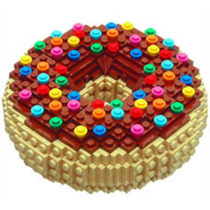 LEGO My Doughnut - you're not suprised i pinned a donut?
