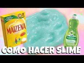 COMO HACER SLIME/PLASTILINA FACIL CON 2 INGREDIENTES SIN BORAX O PEGAMENTO - YouTube