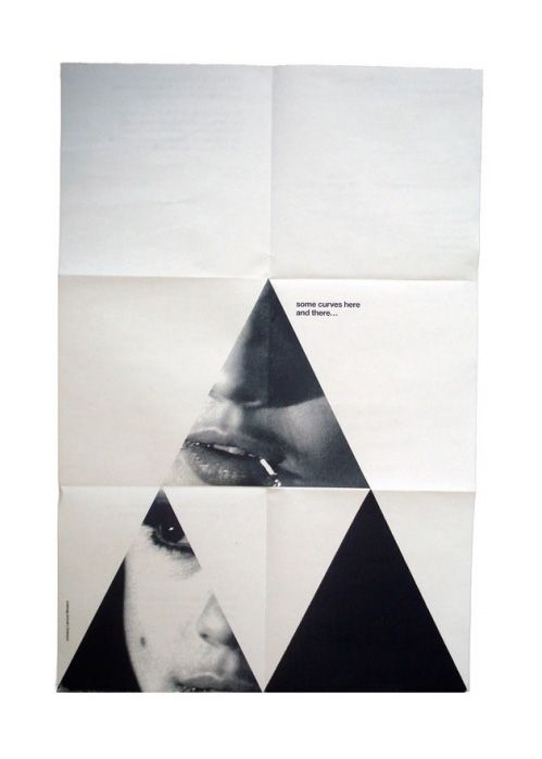 Happiness.: Design Inspiration, Triangles, Edie Sedgwick, Layout, Graphicdesign, Posters Design, Art, Graphics Design, Curves