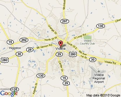 Vidalia GA Map Go Here To Learn About Great Travel Destinations In - Georgia map lonely planet