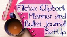 My Filofax Clipbook planner and bullet journal set-up at DecemberBliss.com. Includes month-to-view calendar, week-to-view diary, daily to-do lists, goal tracker and project record.