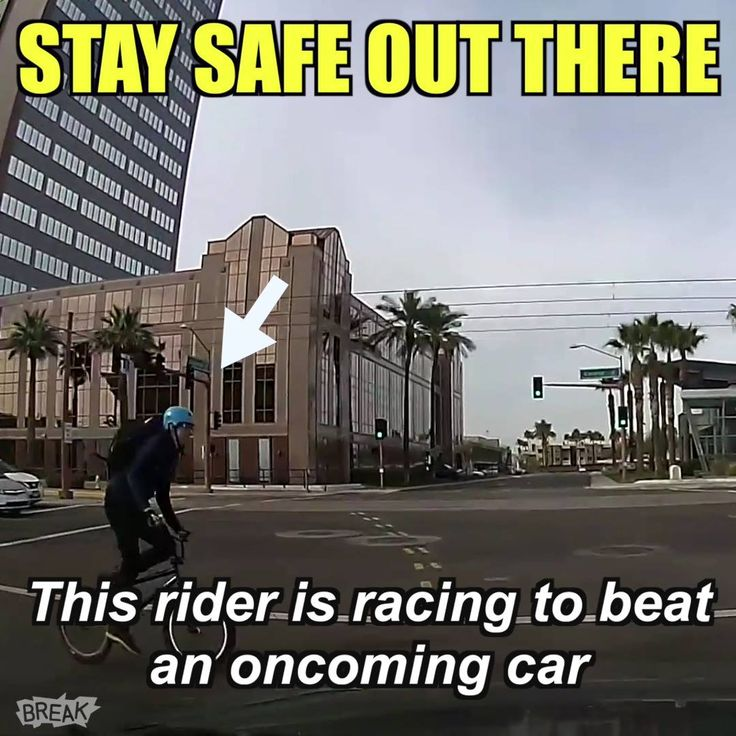 Beware the laws of physics if you ignore traffic laws. 🚦💥🚲   VIDEO: https://twitter.com/BikeRoar/status/836342780830023681.   #cyclist #hit #bmx #cycling #trafficlaws #collision #safety