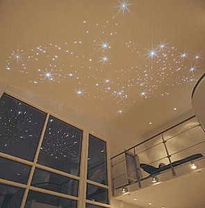 If I could ever get a starry ceiling installed, this is the type I'd want :)