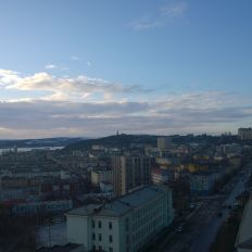 Murmansk from high up