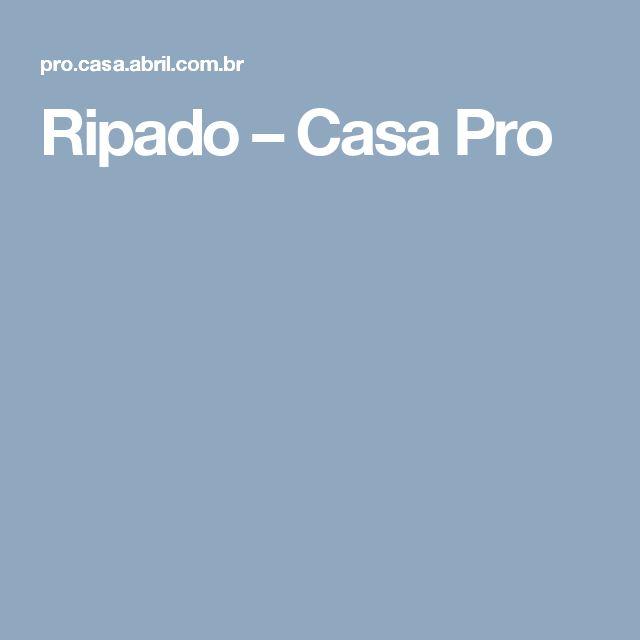 Ripado – Casa Pro