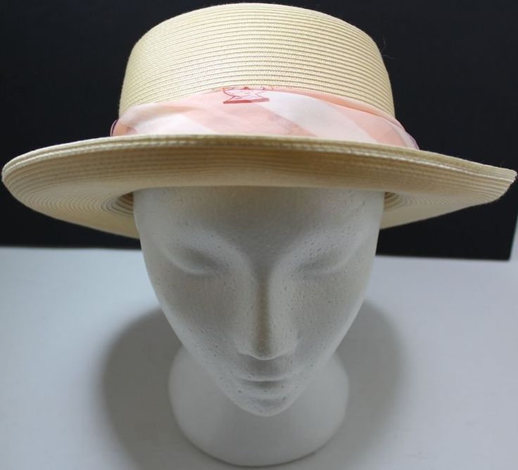 Condura Roll Up Brim Hat With Wrap Scarf Around Brim | eBay