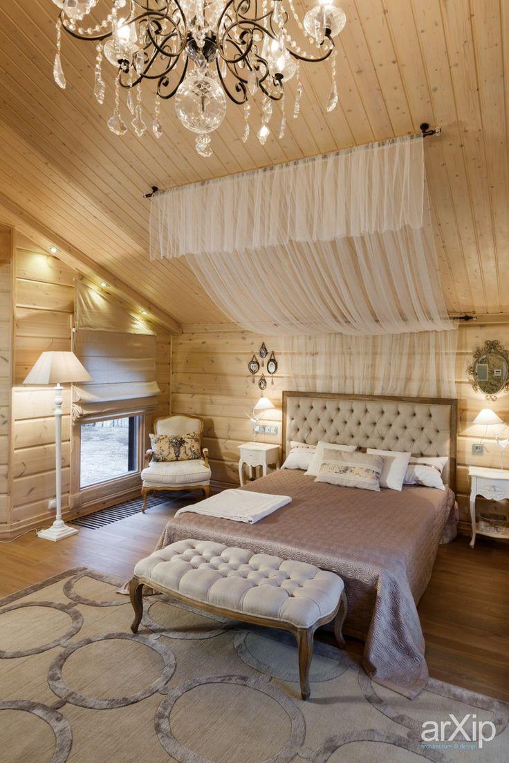 Фото спальня в доме на медном озере - интерьер, квартира, дом, спальня, неоклассика, 30 - 50 м2