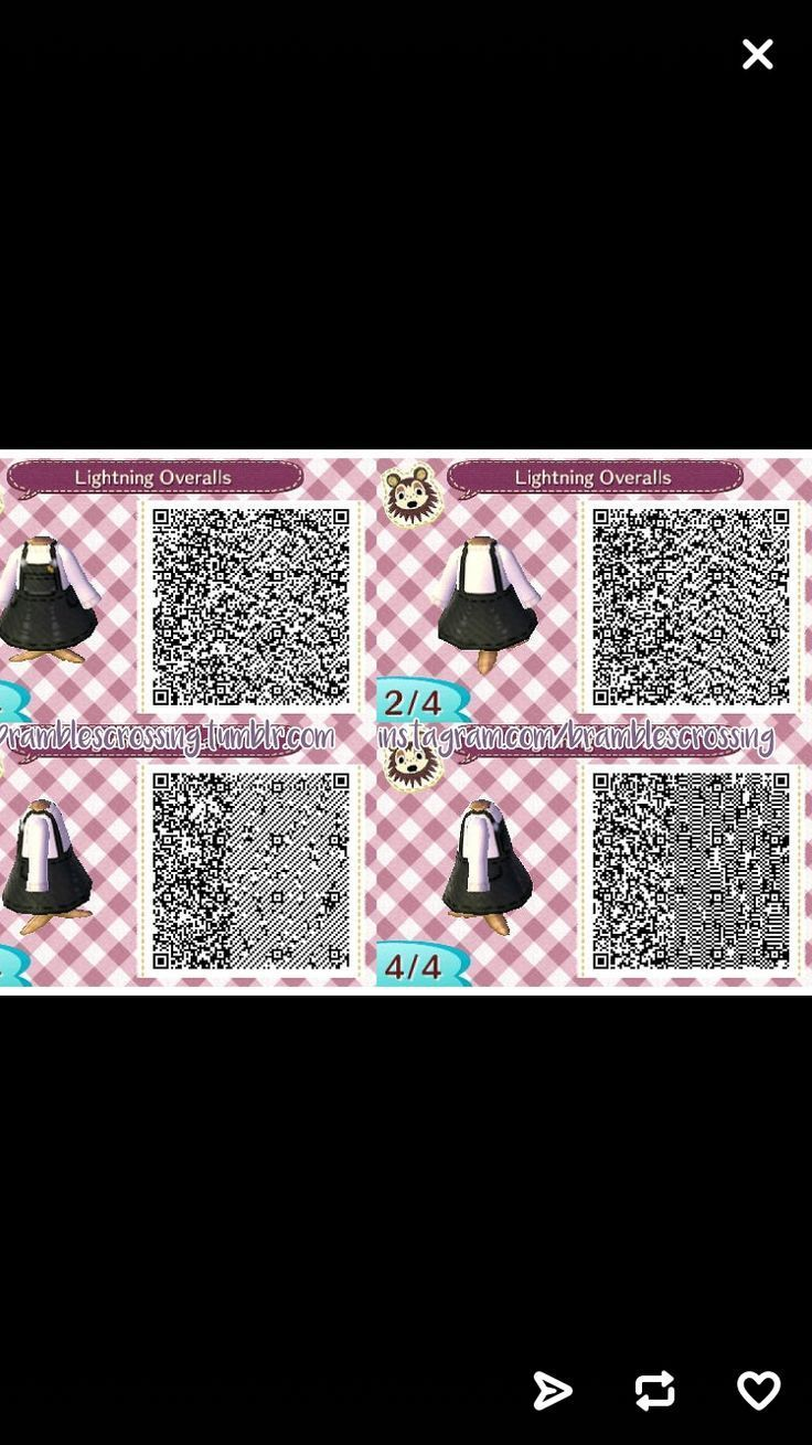 Notitle Acnl Qr Code Acnlqrcode Notitle Animal Crossing