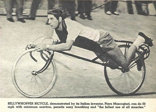 Early Recumbent...stopping must be difficult