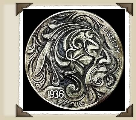 Hobo Nickels- first carved in 1913, the heyday of hobo nickels was in the 30's-used as a way to pass the time during the Depression.