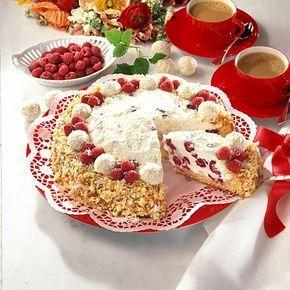 Raffaello-Himbeer-Torte  – Christl