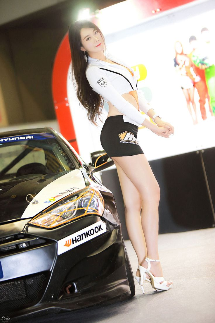 "koreangirlshd: "" Race queen Eun Ha Young at Seoul Auto Salon 2015 ~ Photo by Bisu """
