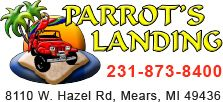 Parrot's landing offers Dune Tours for Silver Lake Michigan, located in Mears Michigan on Lake Michigan.