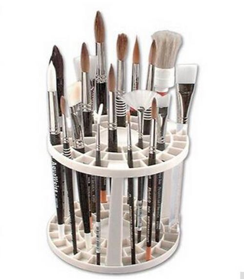 New Makeup Nail Brush Holder Painting Organizer Stand Display Tool