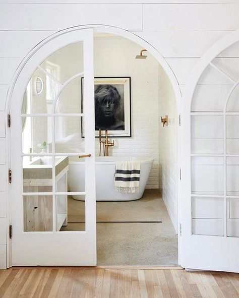 "Okay, normally we don't use profanity, but when we saw this bathroom, we couldn't help but shout, ""Holy !"" Double-tap if your initial reaction was along the same lines. 