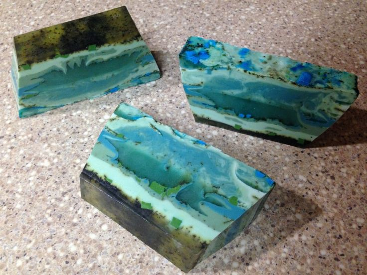 "Layered Rock Soap: ""Miranda"" Batch  https://www.etsy.com/listing/254675840/layered-rock-soap-miranda-batch?ref=shop_home_active_3"