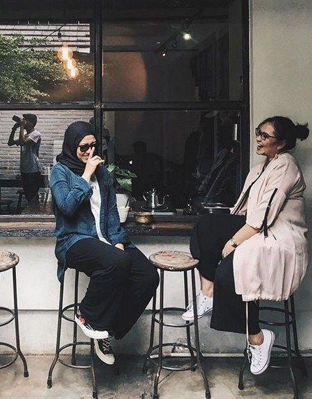 Inspirasi Fashion Hijab Kece Dan Instagramable Ala Citramoeins - Tutorial Hijab
