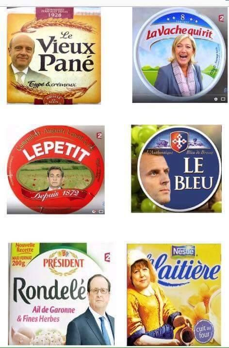 Fun & Humour - Fromages