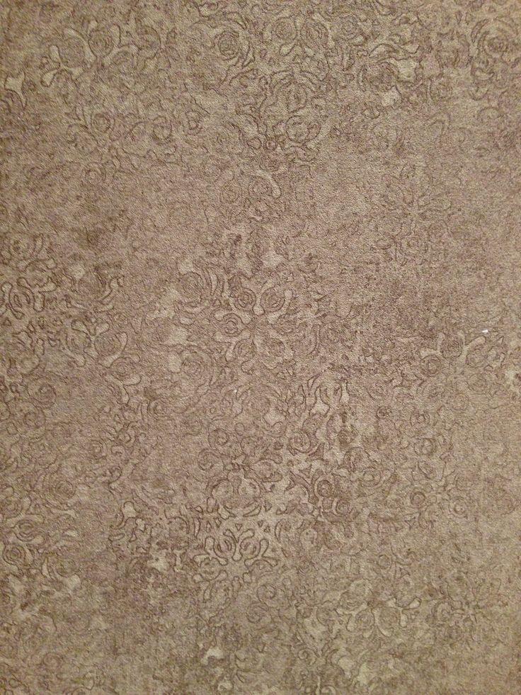 Wallpaper looking like paint on concrete