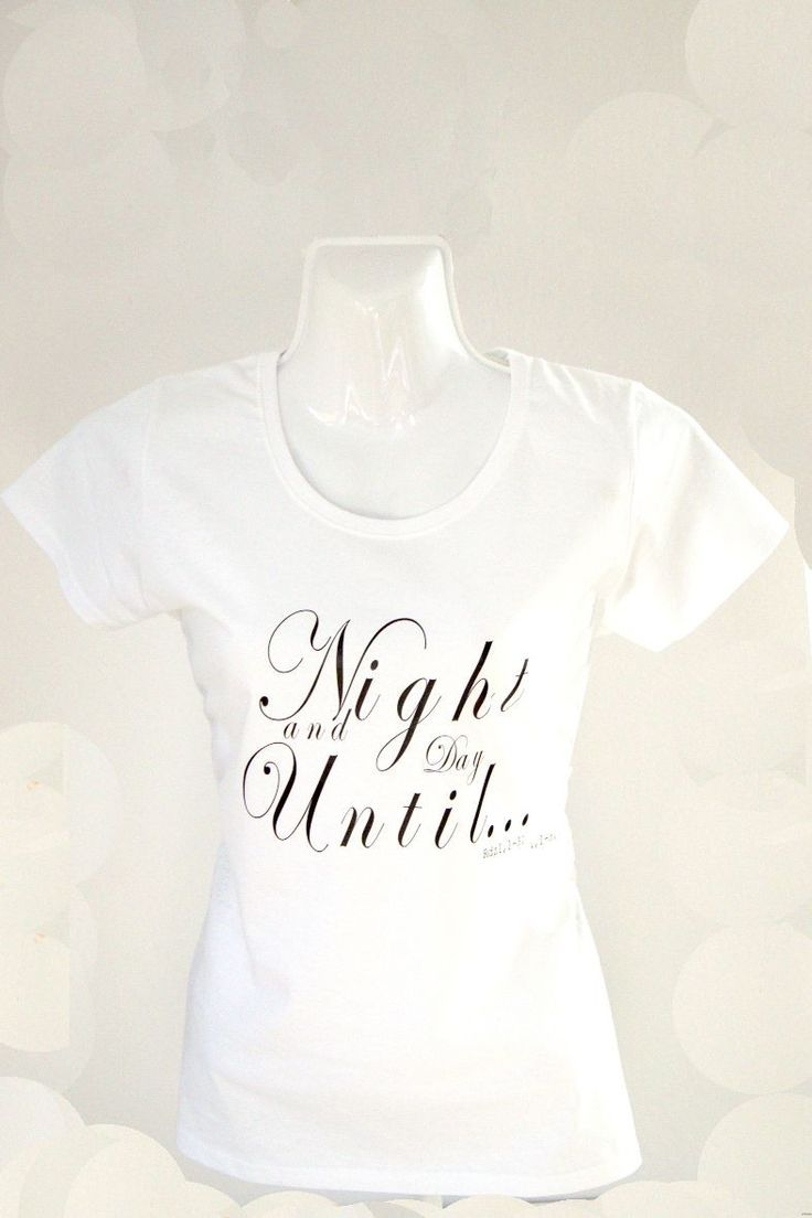 Koszulka Damska Night and Day (biało-czarna)