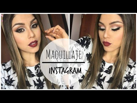 Maquillaje para prom, fiesta o evento para piel morena. / Carolina Ortiz - YouTube