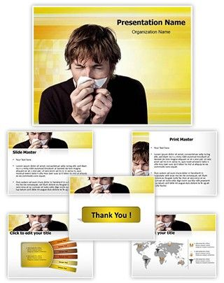 17 best cold and flu powerpoint template images on pinterest allergy powerpoint presentation template is one of the best medical powerpoint templates by editabletemplates toneelgroepblik Images