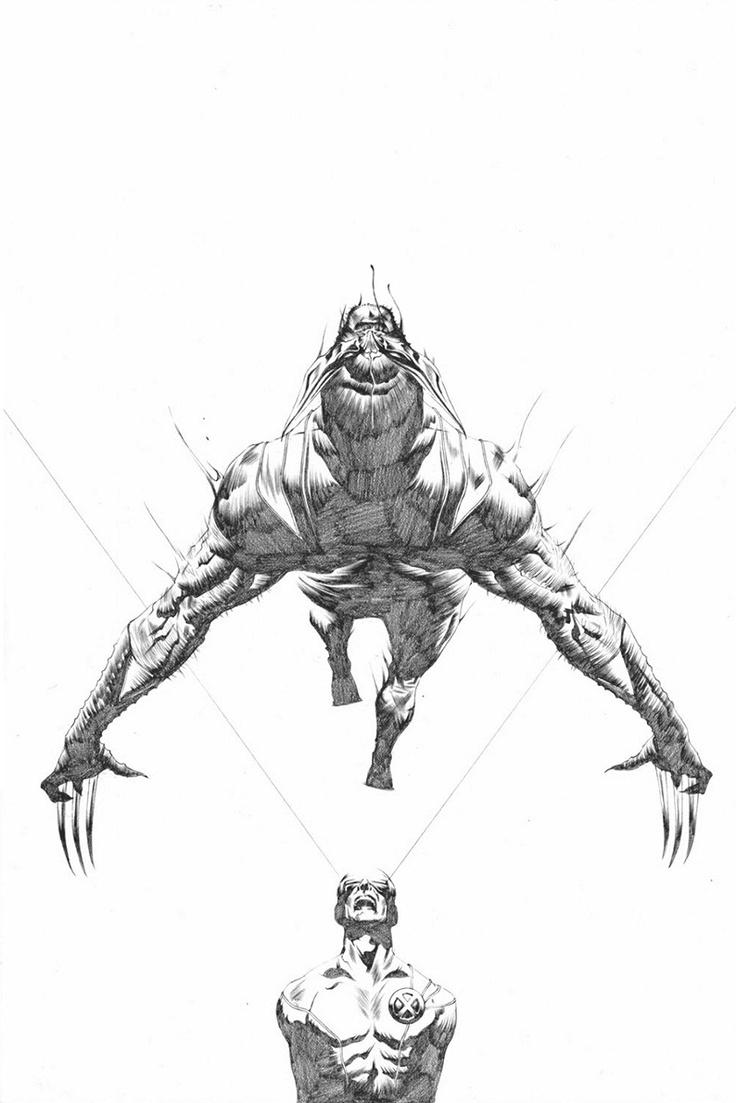 115 best images about jae lee on pinterest - Wolverine dessin ...