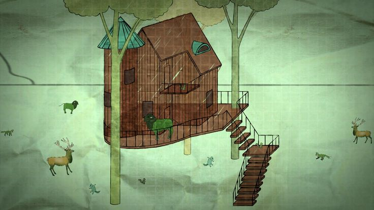 Explore the details of this awesome treehouse! (Windsor Pinnacle windows were used in the build!)