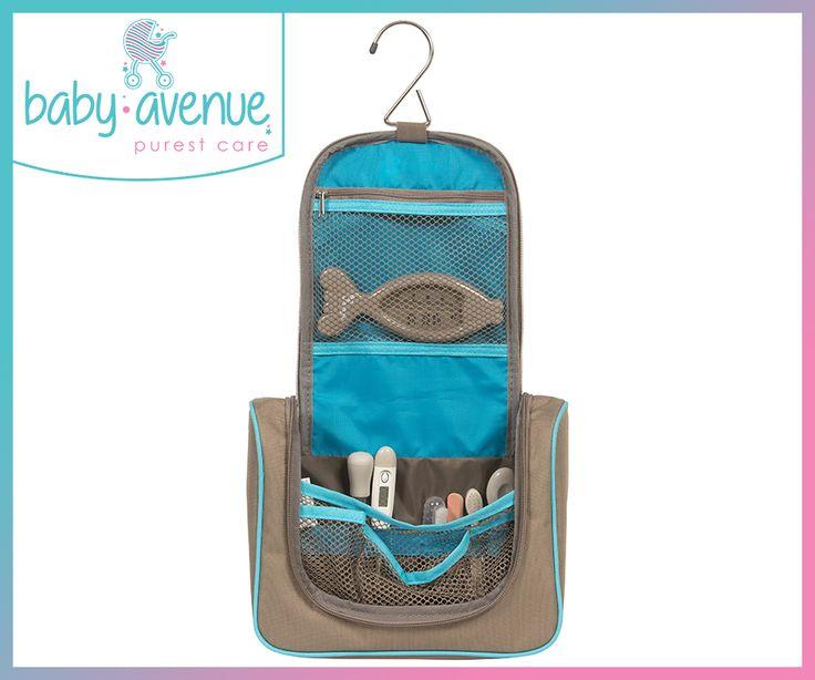 Ωρα για μπάνιο !!  Νεσεσέρ με όλα τα απαραίτητα προϊόντα για το μωρό σας!!