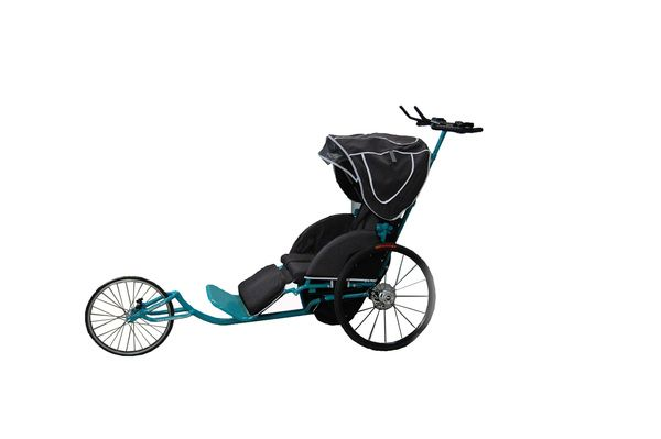 Adaptive Star Axiom Pulse, (Marathon duwrolstoel, Passive Marathon Wheelchair)