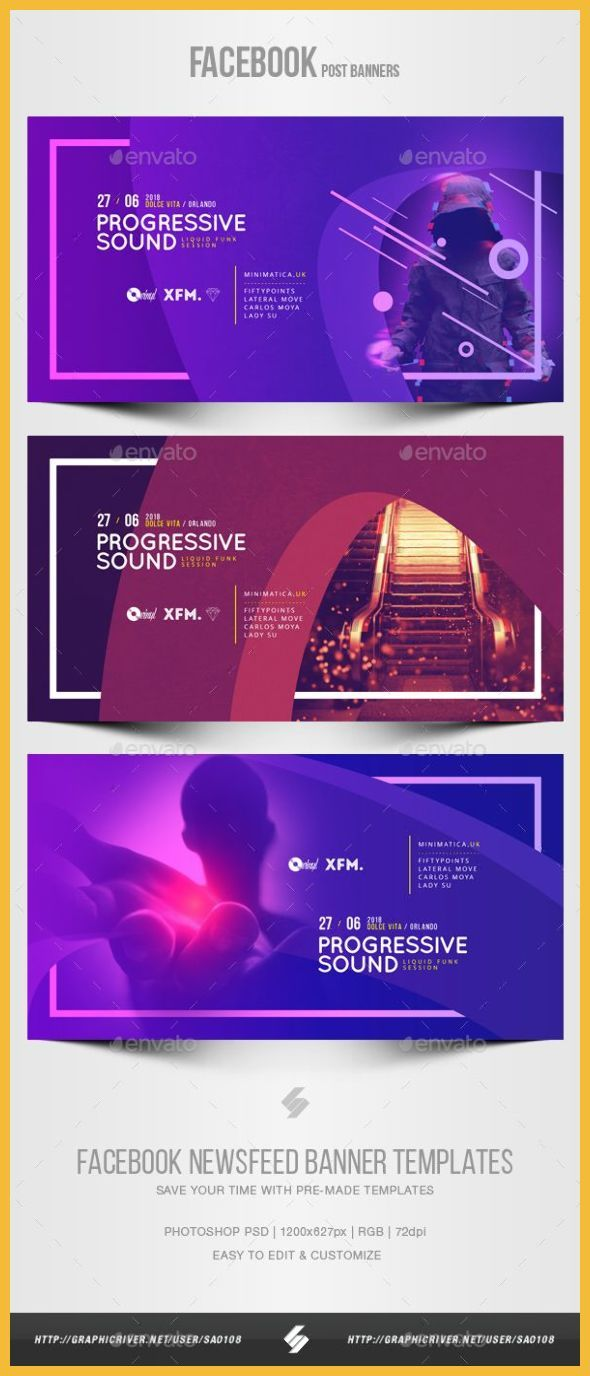Web Banner Design Ideas Electronic Music Party Vol 37 Facebook Post Banner Templates S In 2020 Website Banner Design Banner Design Inspiration Banner Ads Design
