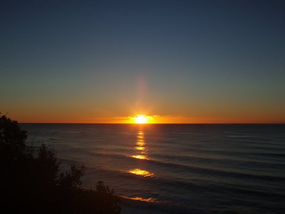 Sunrise over the South Pacific Ocean near Nambucca Heads, Australia.