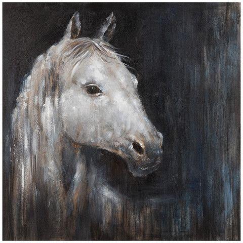 Bassett Mirror, Belgian Modern, Artwork, Hand painted, Mystical Horse – Benjamin Rugs & Furniture