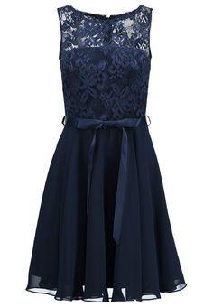 Swing Cocktailkleid / festliches Kleid - schwarz blau - Zalando.de