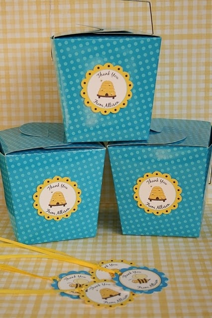 Bumble Bee Party Favors..so cute!