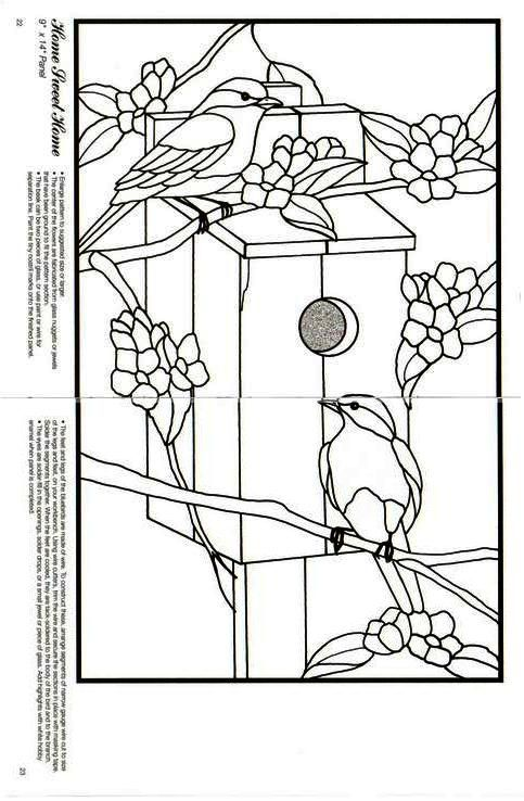 670 best stain glass FREE Patterns images on Pinterest