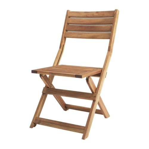 Ikea Applaro Folding Chair - solid acacia, suitable for outdoors (as of Nov 2011, OOS at Shaumberg) $30