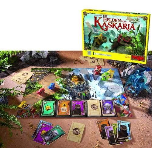 LOS HEROES DE KASKARIA. Una primera aventura de fantasía táctica para 2 - 4 héroes de entre 6 y 99 años.Autor: Benjamin SchwerIlustrador: