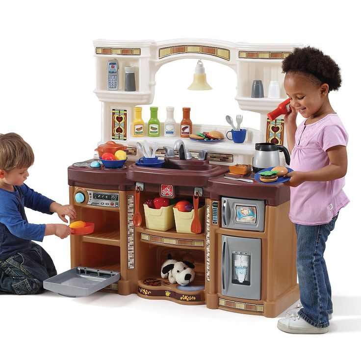Step 2 Toy Food : Lifestyle deluxe kitchen kids play step