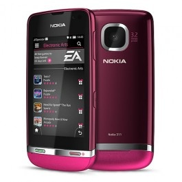 Buy Best Nokia Asha 311 3G Unlocked Phone-Pink only NZD179.00 from Electronic Bazaar NZ  with Best shipping charge.