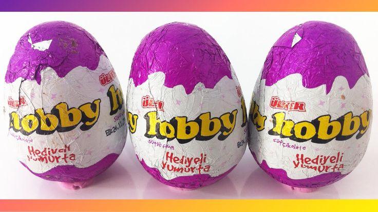 Ülker Sürpriz Yumurtalar Hobby Oyuncak Yumurta Açımı
