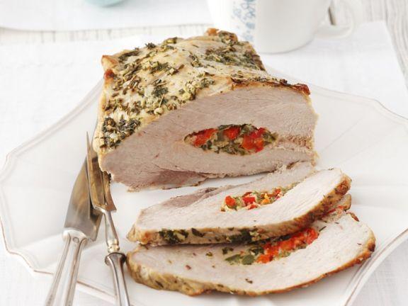 Mit Paprika gefüllter Schweinebraten ist ein Rezept mit frischen Zutaten aus der Kategorie Schwein. Probieren Sie dieses und weitere Rezepte von EAT SMARTER!