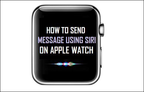 Tips to send a message on Apple Watch using Siri