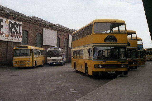 Guild Street Bus Station, Aberdeen. (1984) Picture: Neale Elder