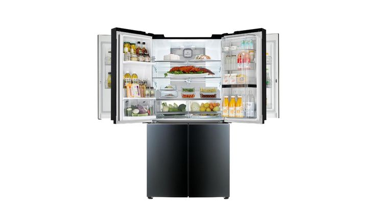 """LG to Unveil First Mega-Capacity Refrigerator with Double Door-in-Door at CES 2015 - http://DesireThis.com/3429 - LG Electronics has announced plans to introduce its first double Door-in-Door Mega-Capacity refrigerator (Model LPXS34886C) in 2015. The award-winning """"door-in-door"""" concept pioneered by LG is among the highlights of cutting-edge refrigerator innovations to be unveiled at the 2015 International CES in Las Vegas next week."""
