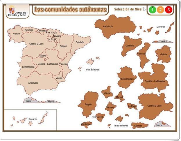 """""""Las Comunidades Autónomas"""""""